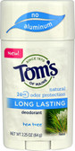 Natural Long Lasting Deodorant Tea Tree 2.25 oz, Tom's of Maine