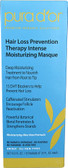 Hair Loss Prevention Therapy Intense Moisturizing Masque 12 oz, Pura D'or