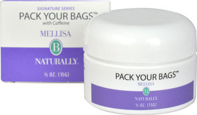Pack Your Bags w/Caffeine Eye Cream 0.05 oz, Mellisa B Naturally