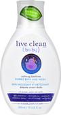 Baby Calming Bedtime Bubble Bath & Wash 10 oz, Live Clean