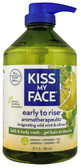 Bath Body Wash Early to Rise Aromatherapy Wild Mint Citrus 32 oz Kiss My Face
