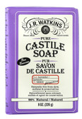 Pure Castile Soap Bar Lavender 8 oz, J. R. Watkins