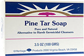 Pine Tar Soap 3.5 oz, Heritage Products