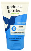 Sport Natural Sunscreen SPF 30 3.4 oz, Goddess Garden Organics