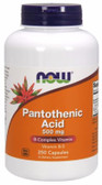 Pantothenic Acid 500 mg 250 Caps Now Foods, Acne