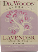 Bar Soap Exfoliating Lavender w/Fair Trade Shea Butter 5.25 oz Dr. Woods