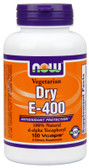 Dry E-400 DA 100 Caps Now Foods, Antioxidant Protection