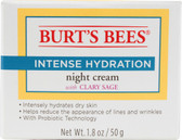 Intense Hydration Night Cream w/Clary Sage 1.8 oz, Burt's Bees