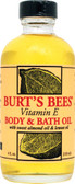 Bath & Body Oil Lemon & Vitamin E 4 oz, Burt's Bees