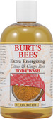 Body Wash Extra Energizing Citrus & Ginger 12 oz, Burt's Bees