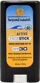 Active Face Stick Sunscreen SPF 30 0.5 oz, Beyond Coastal