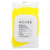 Coconut + Argan Oil Cleansing Towelettes 30 Towelettes, Acure Organics