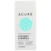 Simply Smoothing Conditioner, Coconut & Marula, 12 fl oz, Acure Organics