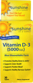 Sunshine In a Tablet Vitamin D-3 5000 IU 30 Tabs, Windmill Health Products
