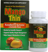 Mango Thin w/Raspberry Ketone & Green Tea 60 Tabs, Windmill Health Products