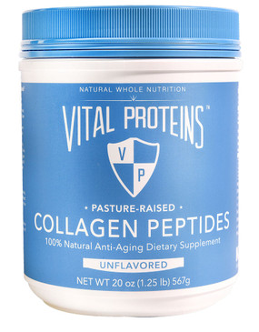 Collagen Peptides Unflavored 20 oz, Vital Proteins