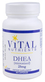 DHEA 25 mg 60 Caps, Vital Nutrients