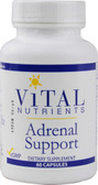 Adrenal Support 60 Caps, Vital Nutrients