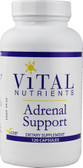 Adrenal Support 120 Caps, Vital Nutrients