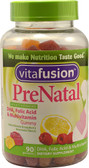 PreNatal Gummy Vitamins Natural Lemon & Raspberry Lemonade 90 Gummies Vitafusion