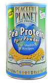 Peaceful Planet Pea Protein Pure Powder Unflavored 15.4 oz, VegLife