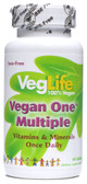 Vegan One Multiple No Iron 60 Tabs, VegLife