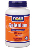 Now Foods Selenium 200 mcg 180 Caps