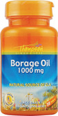 Borage Oil 1000 mg 30 sGels, Thompson