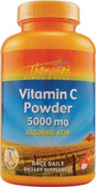 Vitamin C Powder 5000 mg 8 oz, Thompson