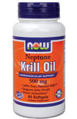 Neptune Krill Oil 500 mg  60 Softgels, Now Foods