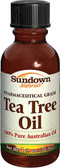 Tea Tree Oil 1 oz, Sundown Naturals