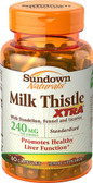 Milk Thistle Xtra 240 mg 60 Caps, Sundown Naturals