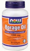 Borage Oil 240 mg 60 Softgels, Now Foods