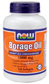 Borage Oil 240 mg 120 Softgels, Now Foods, Joints