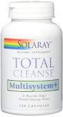 Total Cleanse Multisystem 120 Caps Solaray