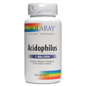 Acidophilus plus Goat's Milk 3 billion microorganisms 100 Caps, Solaray