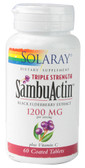 Triple Strength SambActin 1200 mg 60 Coated Tabs, Solaray