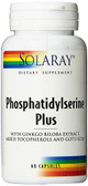 Phosphatidylserine Plus 60 Caps, Solaray