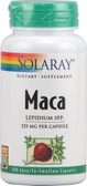 Maca 525 mg 100 Caps, Solaray