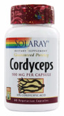 Cordyceps Extract 500 mg 60 Caps Solaray, Immune
