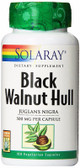 Black Walnut Hull 500 mg 100 Caps Solaray