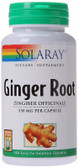 Ginger Root 550 mg 100 Caps Solaray, Digestion