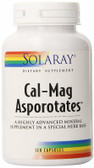 Cal-Mag Asporotates 120 Caps Solaray