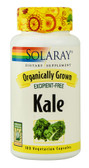 Organically Grown Kale 100 VCaps, Solaray
