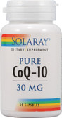 Pure CoQ-10 30 mg 60 Caps, Solaray