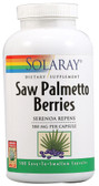 Saw Palmetto Berries 580 mg 360 Caps, Solaray