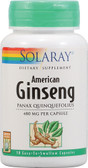American Ginseng 480 mg 50 Caps, Solaray