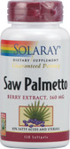 Saw Palmetto Berry Extract 160 mg 120 sGels, Solaray