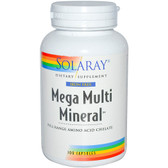 Mega Multi Mineral No Iron 100 Caps, Solaray