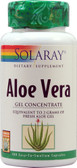 Aloe Vera Gel Concentrate 100 Caps, Solaray